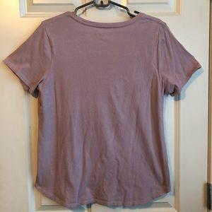 Old Navy Tops - Old Navy Lavender Feminist Pro-Women T-Shirt